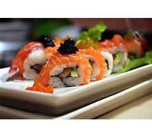 Sushi art Photographic Print