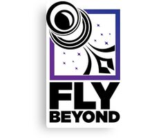 Fly Beyond Canvas Print