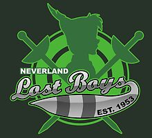 The Neverland Lost Boys by claygrahamart
