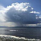 Cloud burst by Julie Van Tosh Photography