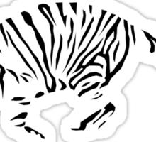 Tiger Outline Sticker