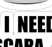 Mascara And Caffeine Sticker