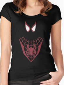ultimate spider-man  Women's Fitted Scoop T-Shirt