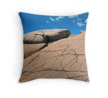Cloud Leap Throw Pillow