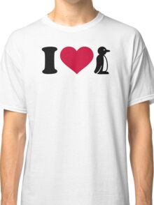 I love Penguin Classic T-Shirt