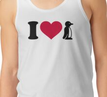 I love Penguin Tank Top