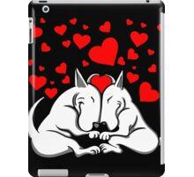 Bull Terriers In Love iPad Case/Skin
