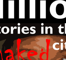 8mil stories Sticker