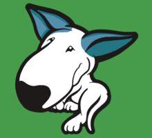 Aqua Ears English Bull Terrier Puppy One Piece - Short Sleeve