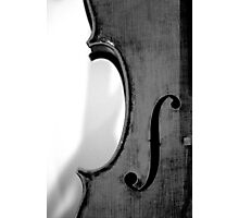 Violincello Photographic Print