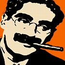 GROUCHO MARX-POP ART by OTIS PORRITT
