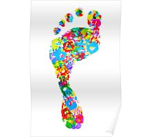 Foot Hand Poster