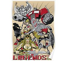LEGENDS OF THE 80´S Poster