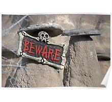 Beware !! Poster