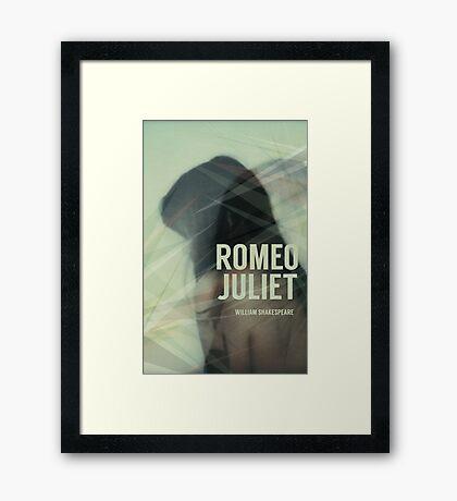 Romeo Juliet Dystopia Framed Print