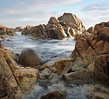Rugged  Coastline by Robert Armitage