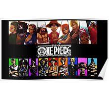 One Piece Crew Poster