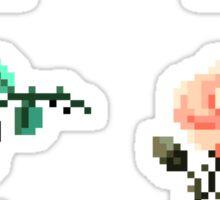 Mini Pixel Roses - Set of 6 Sticker