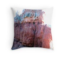 Multi-Colored Hoo Doos Throw Pillow