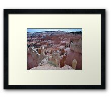 Rock Formations at Bryce Canyon Framed Print