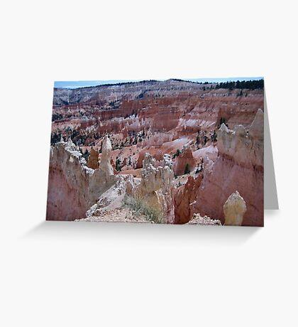 Rock Formations at Bryce Canyon Greeting Card