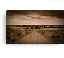 Forty Miles Canvas Print
