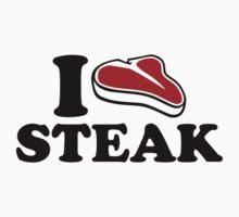 I love Steak Kids Clothes