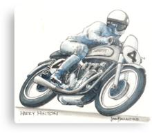Harry Hinton Manx Norton Metal Print