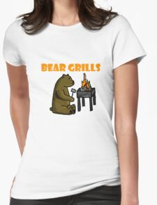 Bear Grills.. - Quick Draw Womens Fitted T-Shirt