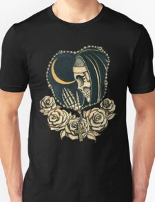 Day of the Dead Praying Nun T-Shirt