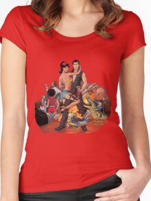 i spy Women's Fitted Scoop T-Shirt