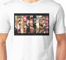 One Piece Straw Hat Gang Unisex T-Shirt
