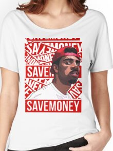 VIC MENSA CHANCE SAVE MONEY Women's Relaxed Fit T-Shirt