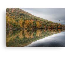 Flying Through Autumn (HDR Version) Canvas Print