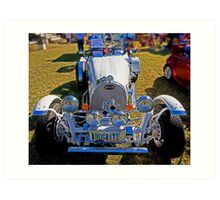 1927 Bugatti Race Car Art Print