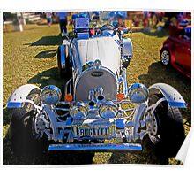 1927 Bugatti Race Car Poster