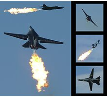 F-111 Dump & Burn Photographic Print