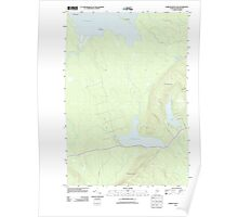 Maine USGS Historical Map Farrow Mountain 20110829 TM Poster