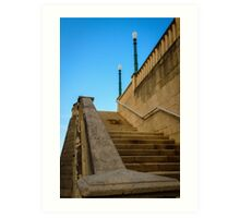 Staircase -Old San Juan  Art Print