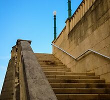 Staircase -Old San Juan  by FRANKNAZARIO