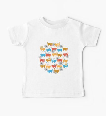 Geek Chic Cats Baby Tee