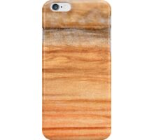 Desert Plain with clouds iPhone Case/Skin