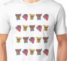 Geek Chic Dogs Unisex T-Shirt