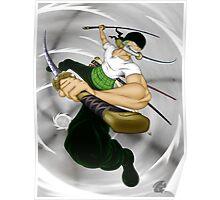 Pirate Hunter Zoro Poster