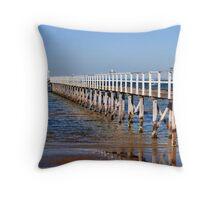 Sorrento jetty Throw Pillow