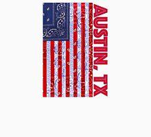 Austin, TX USA - Flagdana Unisex T-Shirt