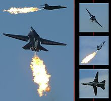 F-111 Dump & Burn #2 by Tim Everding