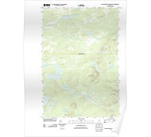 Maine USGS Historical Map Fifth Musquacook Lake 20110906 TM Poster