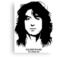 Jimmy Page New Canvas Print