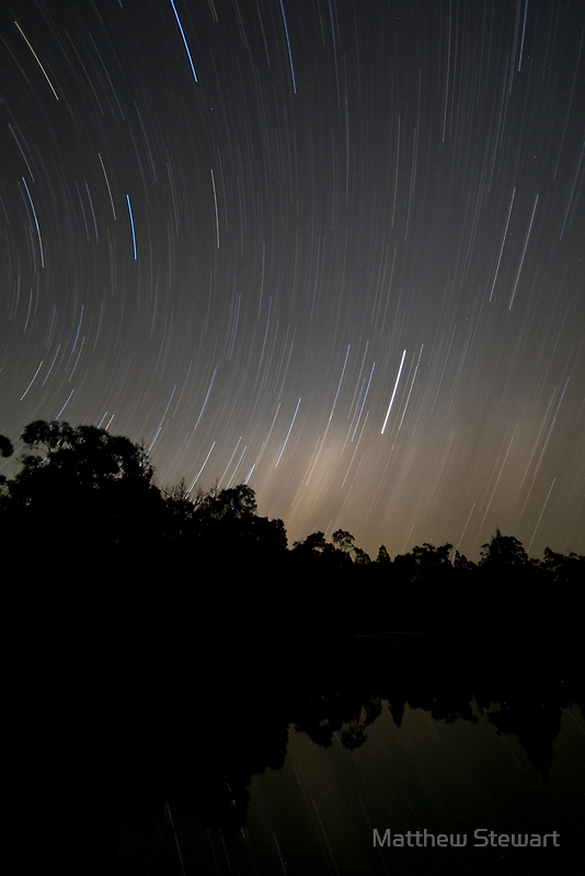 Girraween Star Trails by Matthew Stewart